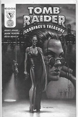 Tomb Raider Scarface's Treasure Dynamic Forces B&W Edition NM