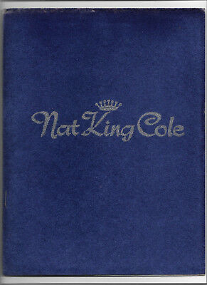 July 1963 Concert Programme - NAT KING COLE / TED HEATH ORCHESTRA