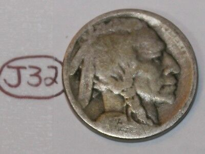 United States 1923 S Buffalo Nickel USA Indian 5 Cents Coin Lot #J32