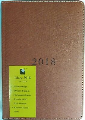 2018 diary a5 Day To A Page Hard Cover Free Shipping