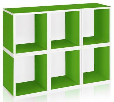 Storage Cube Plus in Green - Set of 6 [ID 133039]