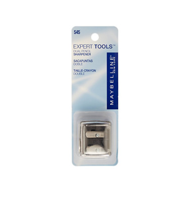 MAYBELLINE New York Expert Tools Dual Pencil Sharpener  New In Pack