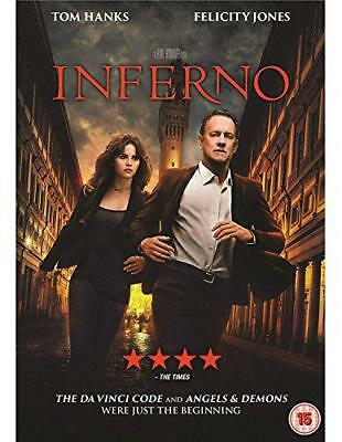 Inferno [DVD] [2016], DVD, New, FREE & Fast Delivery