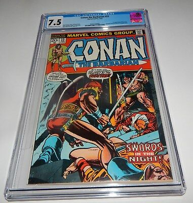 Conan the Barbarian #23 CGC 1st Appearance Red Sonja 7.5 OWTW