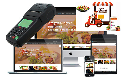 Online ordering printer, POS Printer, with WIFI<GPRS<SMS printer programmable