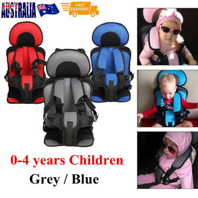 Portable Safety Baby Car Seat Infant Convertible Booster 0-4Y Kid Chair