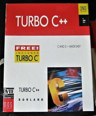 Borland Turbo C++ for Dos