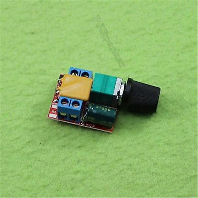 Mini Speed Control Ler 3V-35V Switch Led Dimmer Dc 5A Motor Pwm Ic New is