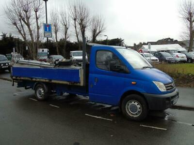 2009 58 Ldv Maxus 2.5Dci 120Bhp Ef Lwb 13Ft 6 In Dropside Truck With Taillift (N