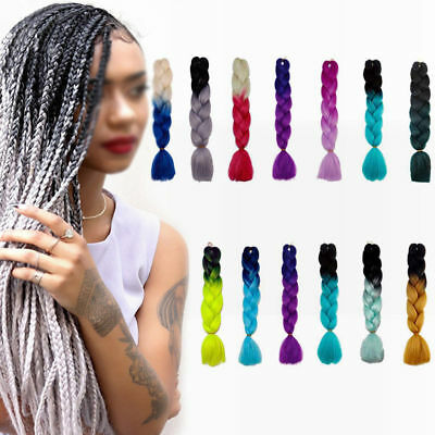 Synthetic Crochet Hair Jumbo Twist Braids For Updo Braiding Hair Extensions