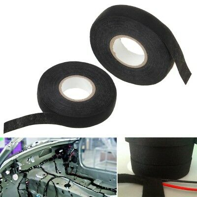 1Pc 19mm Car Auto Wiring Harness Tape Adhesive Cable Protection