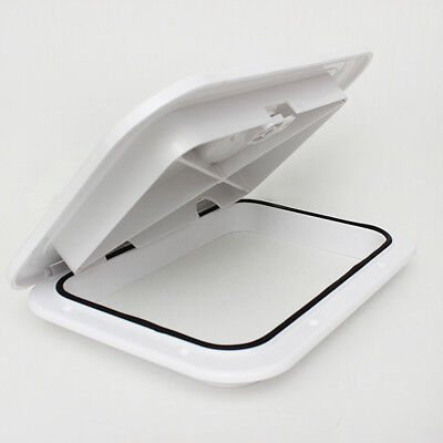 Seaflo Boat Yacht RV Deck Plate Inspection Hatch Plastic Access 270x 375mm