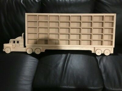 Transporter Truck, Wall mounted Model Car Storage Display