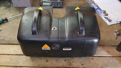 Shoprider valencia mobility scooter spare parts empty battery boxs