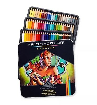 Prismacolor Premier Coloured Pencils Soft Core 72 Pack Set