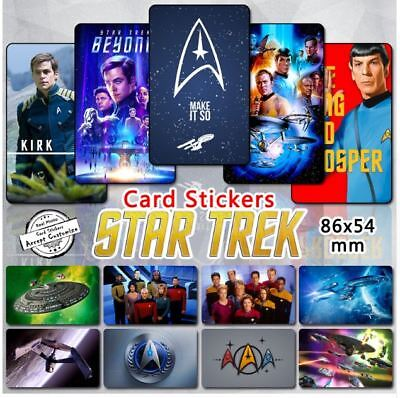 35pcs lot set Star Trek Enterprise Starship Cards Stickers Kirk Movie Character