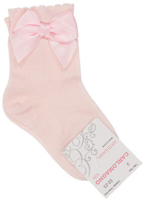 Clothing, Shoes & Accessories Carlomagno Spanish Baby Bow Socks X4
