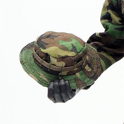 1/6 Scale Uniforms Outfits Suit Woodland camo Bonnie Cap hat for Action Figures
