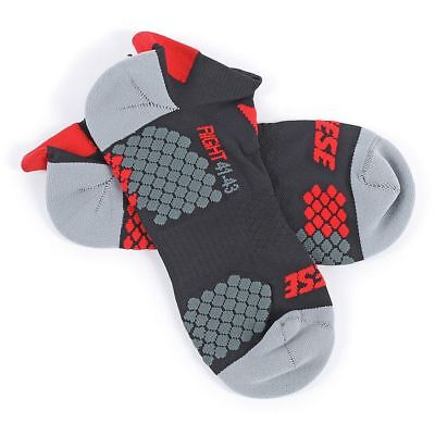 Dainese D-Core Footie Ankle Socks Black/Red