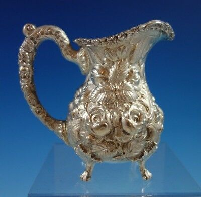 Rose by Stieff Sterling Silver Creamer Hand Chased #700 (#2356)
