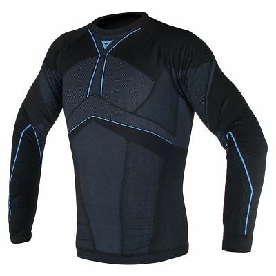 Dainese D-Core Aero Base Layer Shirt Black/Cobalt Blue XS/SM