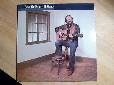 "12"" LP - Best of Barry McGuire - (12 Songs) Sparrow - 1980"