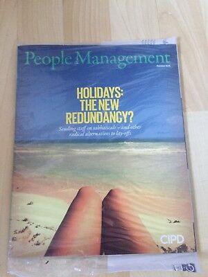 CIPD Professional People Management Magazines June 2013 - October 2016