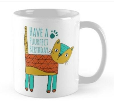 Cat Lovers Birthday Gift Present For Lover Mug Cup Coffee Tea