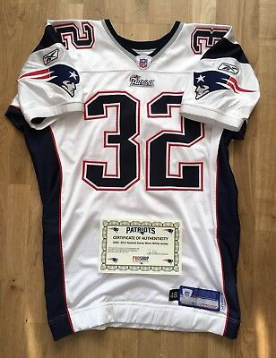 New England Patriots Game worn jersey Trikot