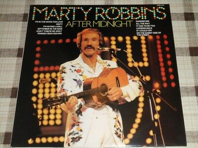 Marty Robbins: After midnight (#shm3197) / Vinyl record [Vinyl-LP Album]