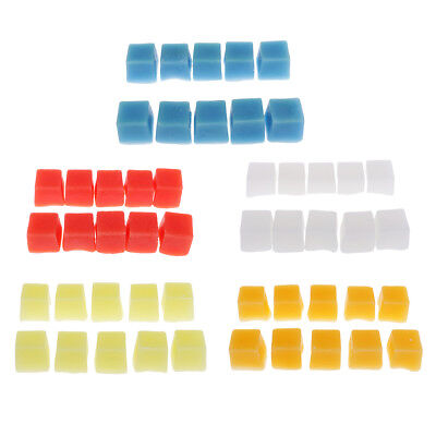 10pcs Cube Candle Wax Paraffin Wax Blocks for DIY Candle Making Supplies
