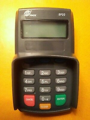PAX SP20 Debit PINPAD used in great condition