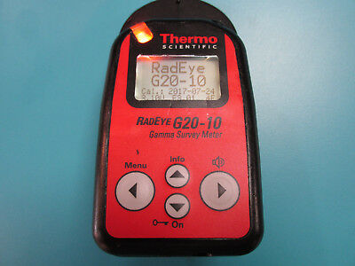 Thermo Scientific Radeye G20-10 Gamma Survey Meter
