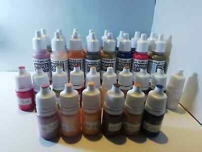 Vallejo Model colour acrylic paint 5ml bottle. Face and Skin tones