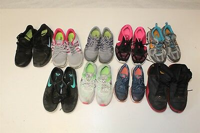 NIKE Lot Wholesale Used Shoes Rehab Resale Various Conditions aStJ