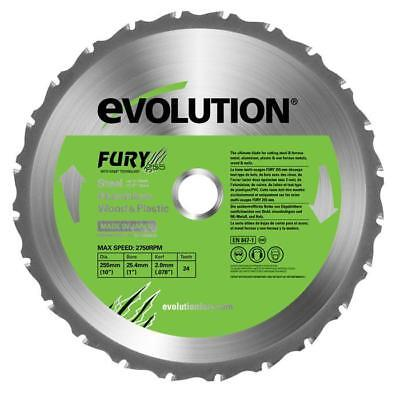 Lame multi-usages FURY 255mm