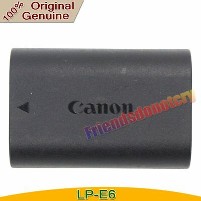 Genuine Original LP-E6 LC-E6E Battery For Canon EOS 5D Mark III  60D 70D LP-E6N