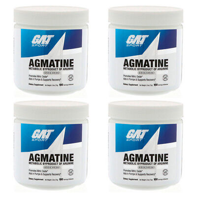 GAT AGMATINE NITRIC Oxide, Pump & Recovery Support - 100 Servings