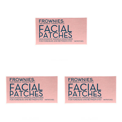 3X Frownies Facial Patches For Foreheads & Between Eyes Wrinkles Smooth Daily