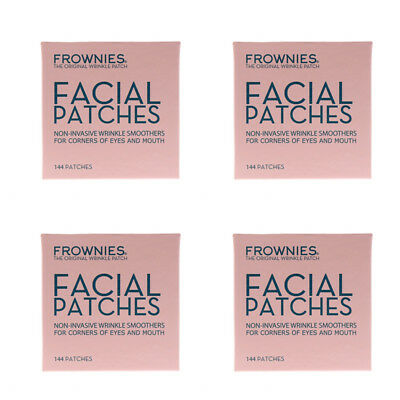 4X Frownies Facial Patches For Corn Of Eyes & Mouth Wrinkles Smooth Daily Care