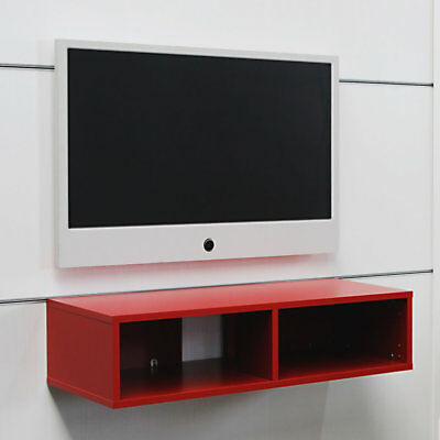 Cinewall TV Wand Mediabox Mit 2 Fachern 1000x400x238mm Dekor Candela Lava
