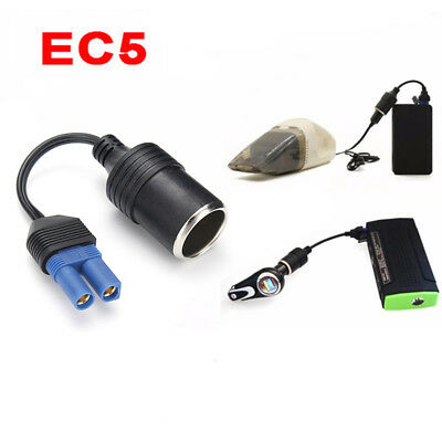 EC5 Male Plug 12V to Cigarette Lighter Socket Car battery Charger Cable Apaptor