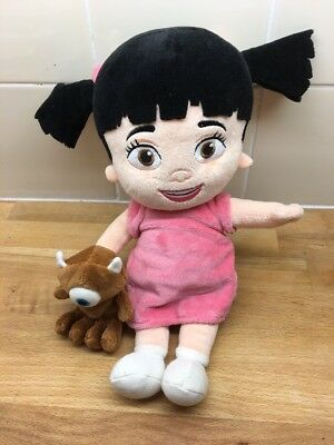Disney Monsters Inc BOO Baby Mike Walsowski Teddy Soft Plush Toy Doll (18)