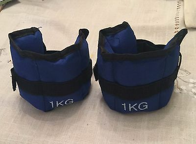 Wrist and Ankle Weights for Gym Resistance Strength Training 1KG
