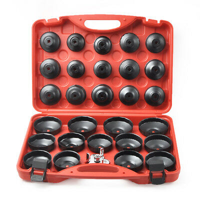 30Pcs Oil Filter Cap Wrench Cup Socket Tool Set For Mercedes/BMW/VW/Audi/Volvo