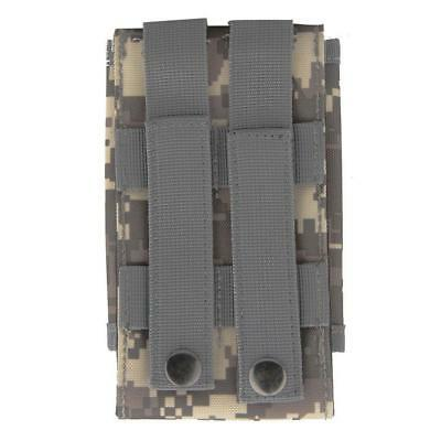Universal Army Camo Bag For Mobile Phone Belt Loop Hook Case Cover Pouch_Holster