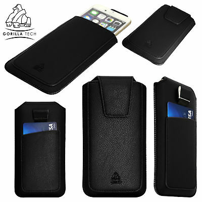 Luxury Leather Pull Up Tab Pouch Pocket Case Stylish Cover For Huawei P20 Series