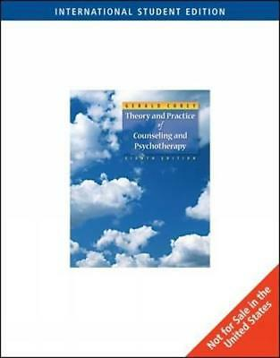 Theory and Practice of Counseling & Psychotherapy, International Edition, Gerald
