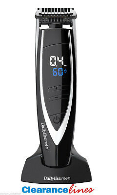 BaByliss for men 7898U Super Stubble Cordless Trimmer - One Year Guarantee
