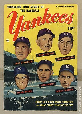 Thrilling True Story of the Baseball Yankees #0 1952 GD/VG 3.0
